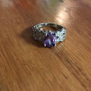 Purple costume Ring